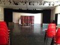 L'allestimento del Teatro Sala B