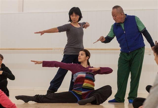 Henry Yu, Yang Yu Lin e Stefania Bucci