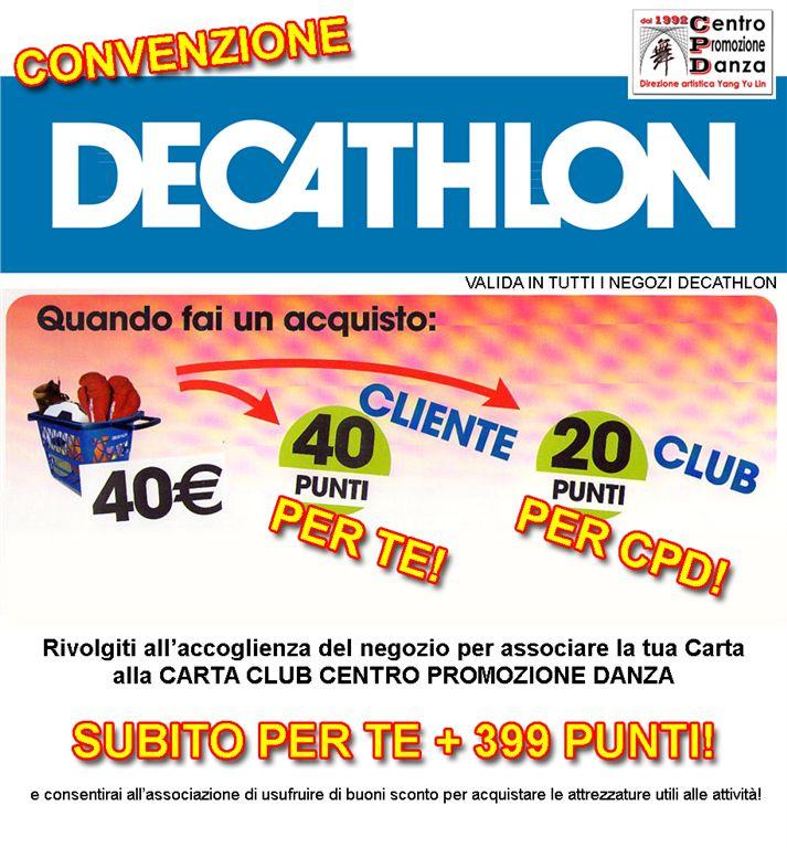 Convenzione Decathlon
